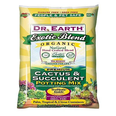 Exotic Blend Succulent/Cactus Potting Mix, 8-Qt.