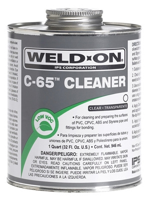 C65 1/4PT CLR Cleaner