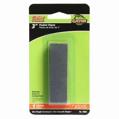 Pocket Sharpening Stone, 3 x 7/8 x 3/8-In.