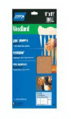 5-Pack 9 x 11-Inch Sanding Sheets