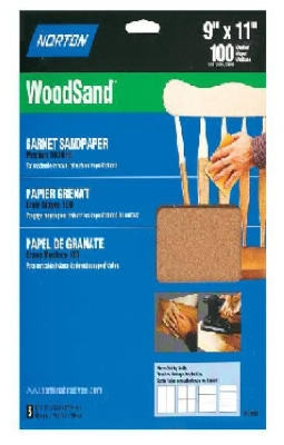 3-Pack 9 x 11-Inch 60-Grit Sanding Sheets