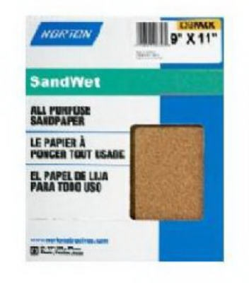 5-Pack 9 x 11-Inch Wet Sanding Sheets