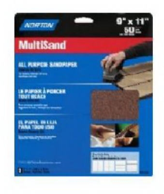 3-Pack 9 x 11-Inch Emery Metal Sanding Sheets