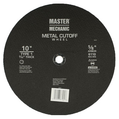 MM 10x3/32 Cutoff Wheel