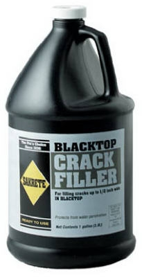Aspalt Black Top Crack Filler, 1-Gallon