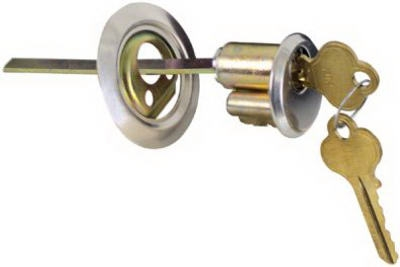 Rim Cylinder Garage Door Deadbolt
