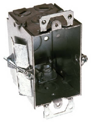 3 x 2-1/2-Inch Steel Old Work Switch Box