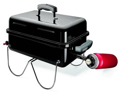 Go Anywhere LP Gas Tabletop Grill, Black, 160-Sq. In.
