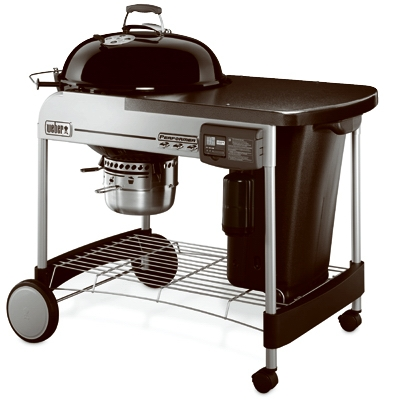 Performer Deluxe Charcoal Grill, Black, 22-In.
