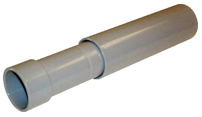 PVC Conduit Expansion Coupling, 1.5-In., 2-Pc.