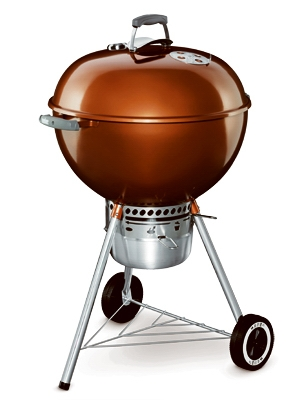 Original Kettle Premium Charcoal Grill, Copper, 22-In.