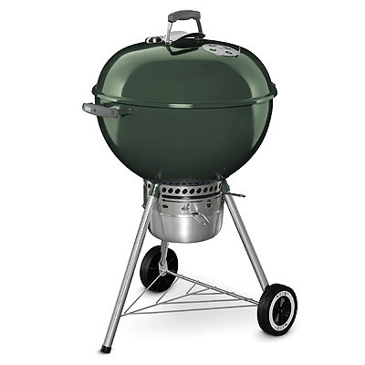 Original Kettle Premium Charcoal Grill, Green, 22-In.