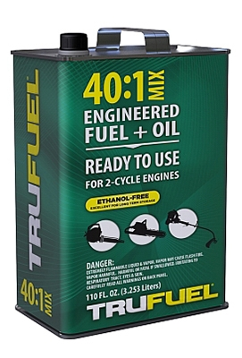 Small Engine Pre-Mixed Fuel & Oil, 40:1, 110-oz.
