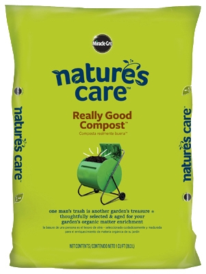 Nature's Care Garden Compost, 1-Cu. Ft.