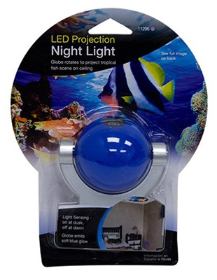 Projectables LED Night Light, Tropical Fish