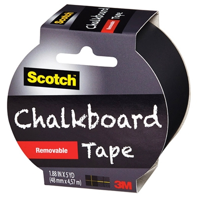Chalkboard Tape, 1.88-In. x 5-Yds.
