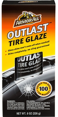Aerosol Outlast Tire Glaze, 8-oz.