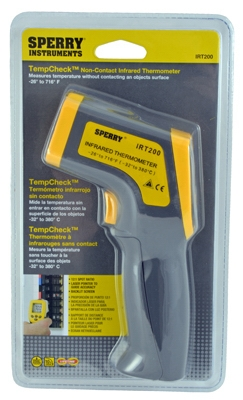 Infrared Thermometer, Gun-Grip Style