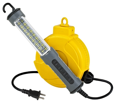 18-LED Work Light, Retractable, 20-Ft. Cord Reel