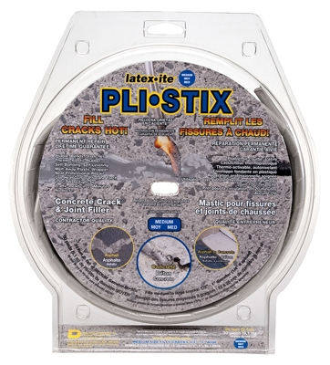 Pli-Stix Driveway Crack/Joint Filler, Gray, 30-Ft.