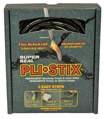 Pli-Stix  Blacktop Crack & Joint Filler, Black, 30-Ft.