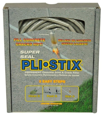 Pli-Stix  Blacktop Crack & Joint Filler, Gray, 30-Ft.