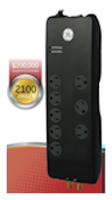 8-Outlet Surge Protector