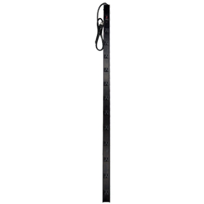 Power Stick, 12-Outlet, Metal