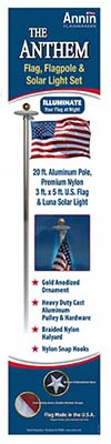 Anthem U.S. Flag Pole Kit, 20-Ft.