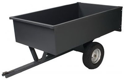 Dump Cart, Steel, 17-Cu. Ft., 1500-Lb. Capacity