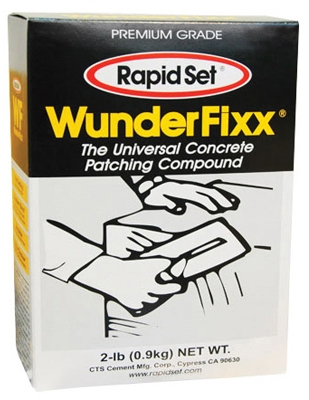 2 LB, WunderFixx, Concrete patching compound.