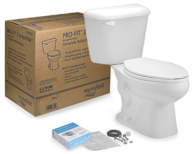 Alto Pro-Fit 2 Toilet Kit, White