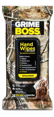 Real Tree Hand Cleaning Wipes, 24-Ct.