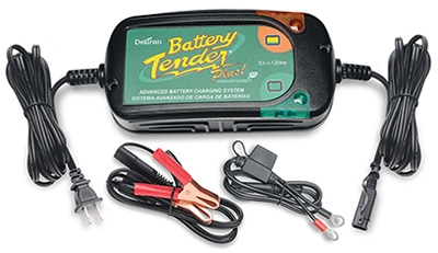 Plus Charger & Maintainer, 12-Volt, 1.25-Amp