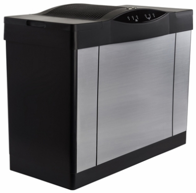 Console Evaporative Humidifier, Brushed Nickel, 5.7-Gal. Water Capacity, Up to 3600 Sq. Ft. Coverage