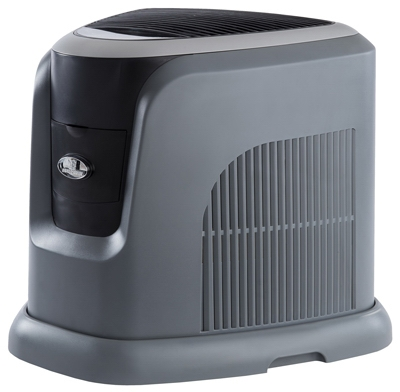 Evaporative Humidifier, Grey/Black, 3.5-Gal. Water Capacity, Up to 2400 Sq. Ft. Coverage