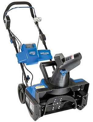 iON Cordless Electric Snow Blower, Single Stage, Rechargeable 40-Volt Battery