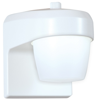 LED Entry & Patio Light, Photo Control, White