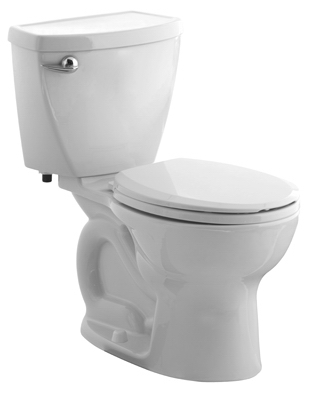 Toilet To Go Bowl & Tank,  Low-Flow, Elongated Front, White