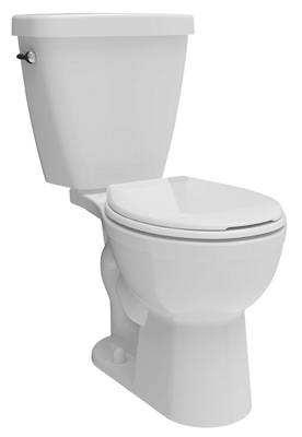Prelude Toilet Kit, Low-Flow, Round-Front, White Vitreous China, 2-Pc.