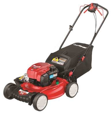 3-In-1 Self-Propelled Gas Lawn Mower, 163cc Engine, 21-In.