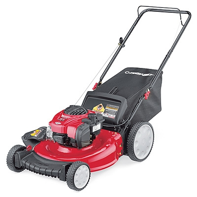 3-In-1 Gas Push Lawn Mower, High-Wheel, 140cc Engine, 21-In.