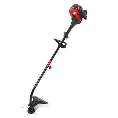 Gas String Trimmer, Curved Shaft, 25cc Engine, 17-In. Swath