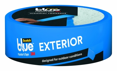Painter's Tape, Exterior, Blue, 1.41-In. x 45-Yds.