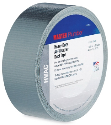 Maximum Duty HVAC Duct Tape,  1.89-In. x 35-Yd.
