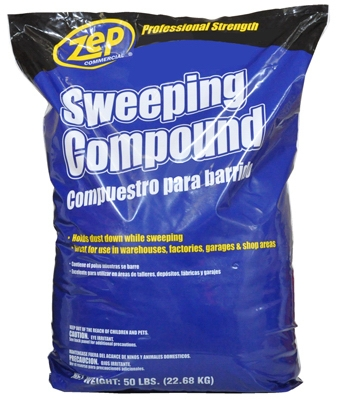Sweeping Compound, Soy Base, 50-Lbs.