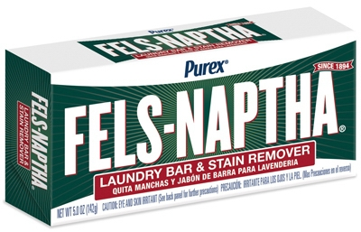 Fels-Naptha Laundry Bar Soap, 5.0-oz.