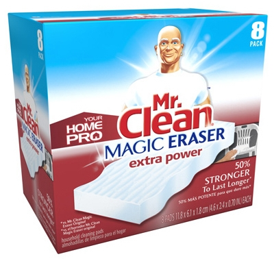 8-Count Home Pro Extra-Power Magic Eraser