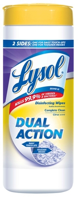 35-Count Dual-Action Wipes