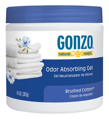 Odor Absorbing Gel, Brushed Cotton, 14-oz.